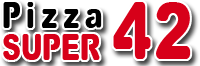 Logo Pizza Super 42 Gera